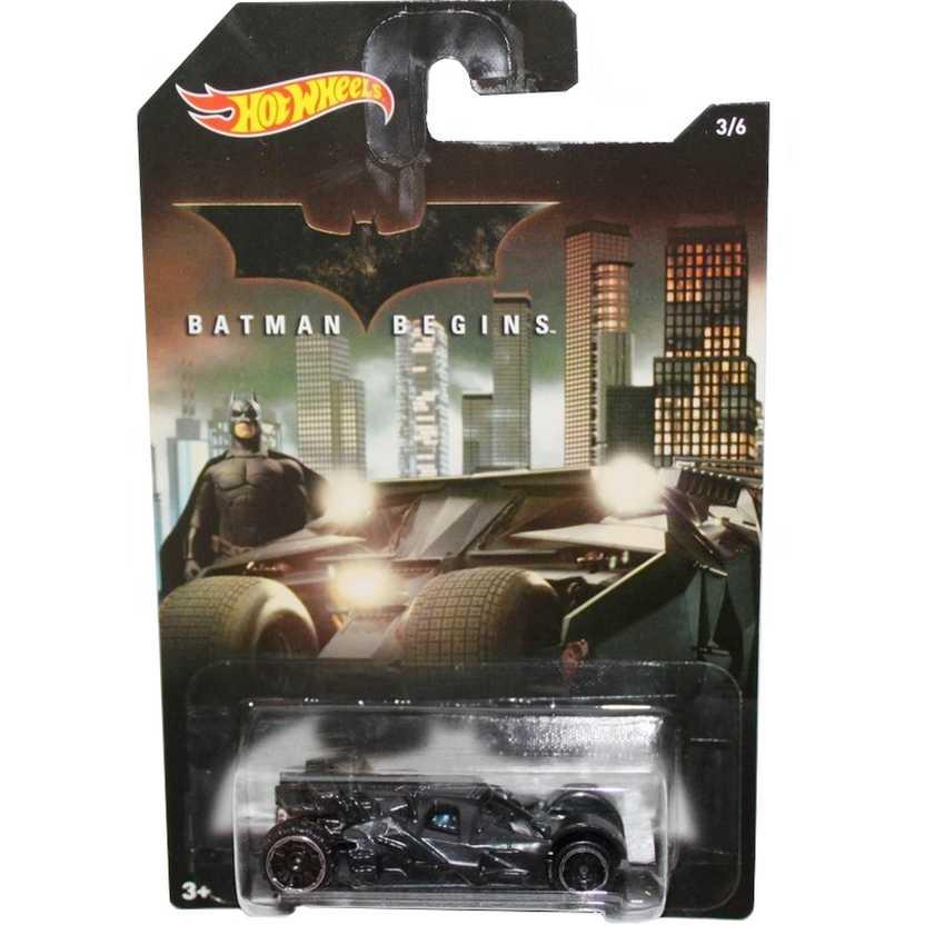 Hot Wheels 2015 Batman Begins Batmobile Tumbler DFK73 series 3/6 escala 1/64