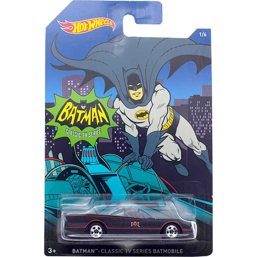 Hot Wheels 2015 Batman Classic TV series Batmobile DFK71 series 1/6 escala 1/64