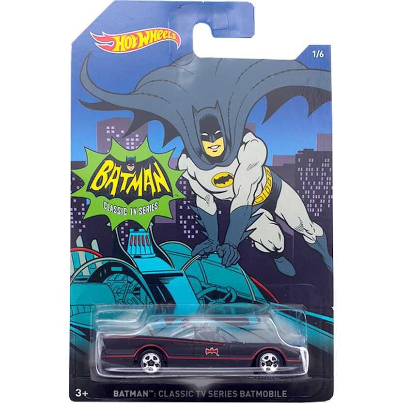 Hot Wheels 2015 Batman Classic TV series Batmobile DFK71 series 1/6 escala 1/64