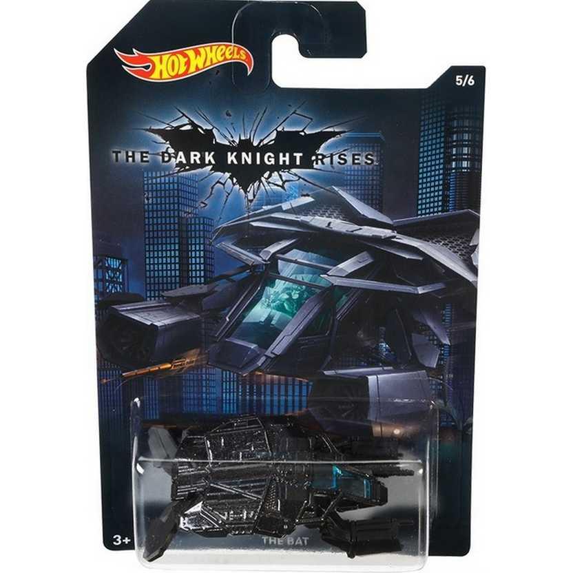 Hot Wheels 2015 Batman - The Dark Knight Rises The Bat DFK74 series 5/6 escala 1/64