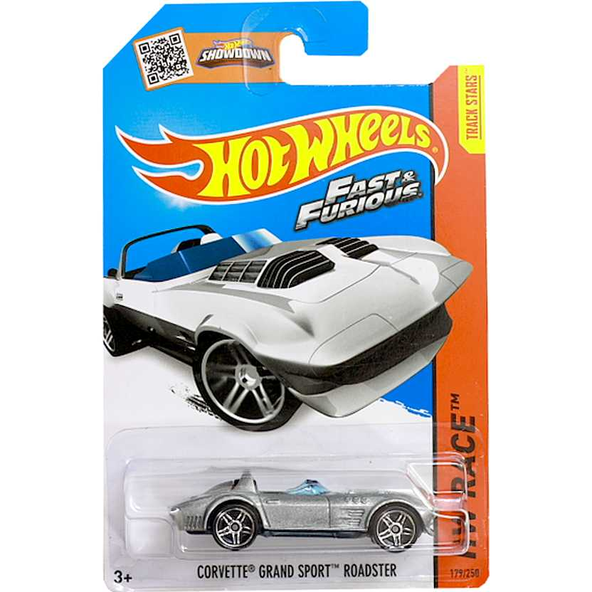 Hot Wheels 2015 Corvette Grand Sport Roadster - Fast Five CFL27 series 179/250 escala 1/64
