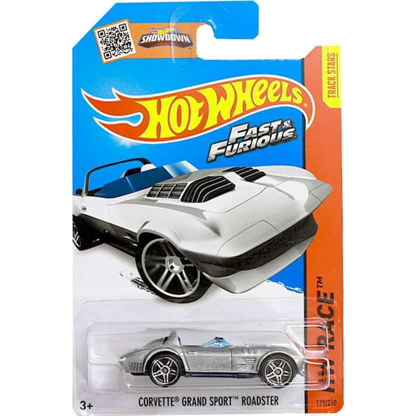 Hot Wheels 2015 Corvette Grand Sport Roadster - Fast Five CFL27 series 179/250 escala 1/64