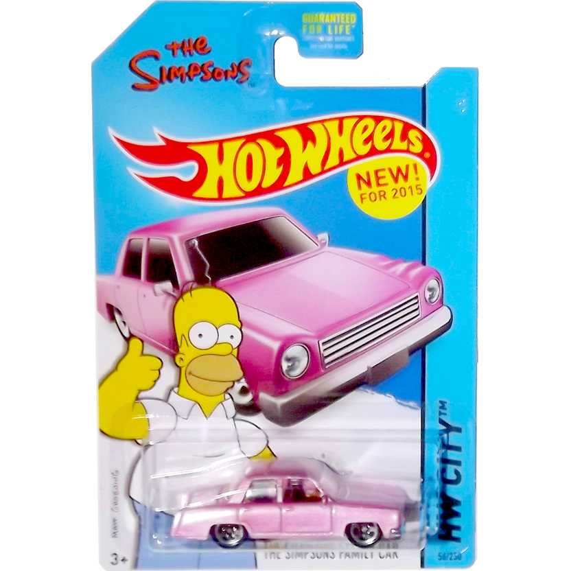 Hot Wheels 2015 The Simpsons Family Car CFG80 series 56/250 escala 1/64