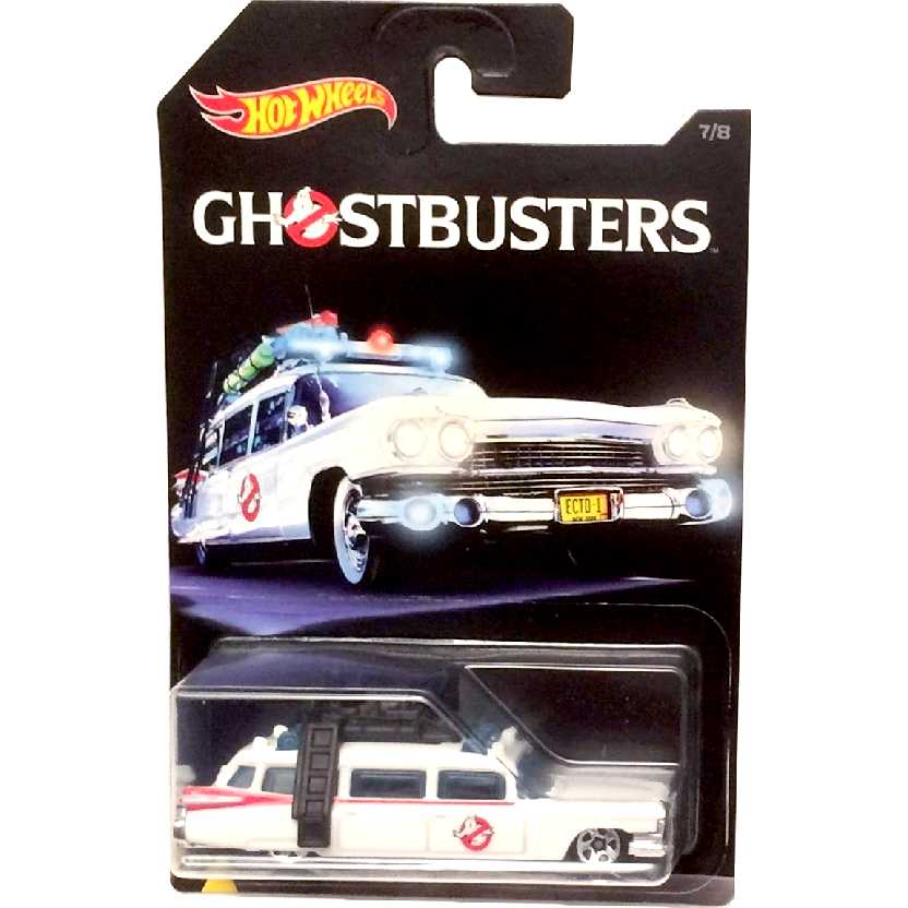 Hot Wheels 2016 Ghostbusters ECTO-1 7/8 DWF01 escala 1/64