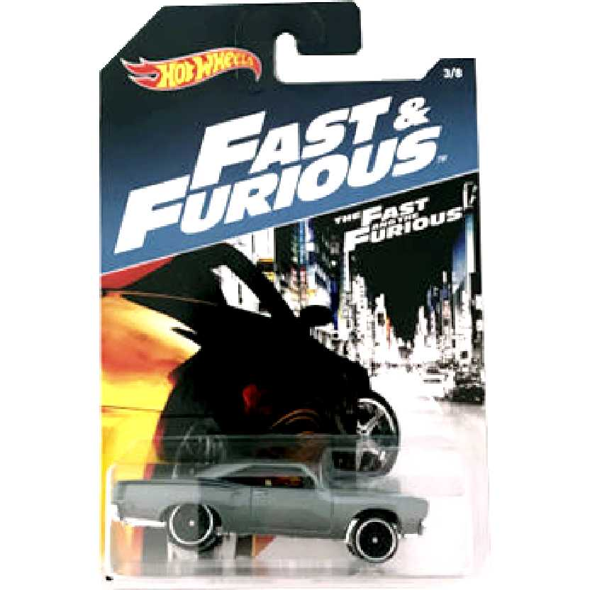 Hot Wheels 70 Plymouth Road Runner Velozes e Furiosos The Fast and Furious 3/8 DWF73 1/64