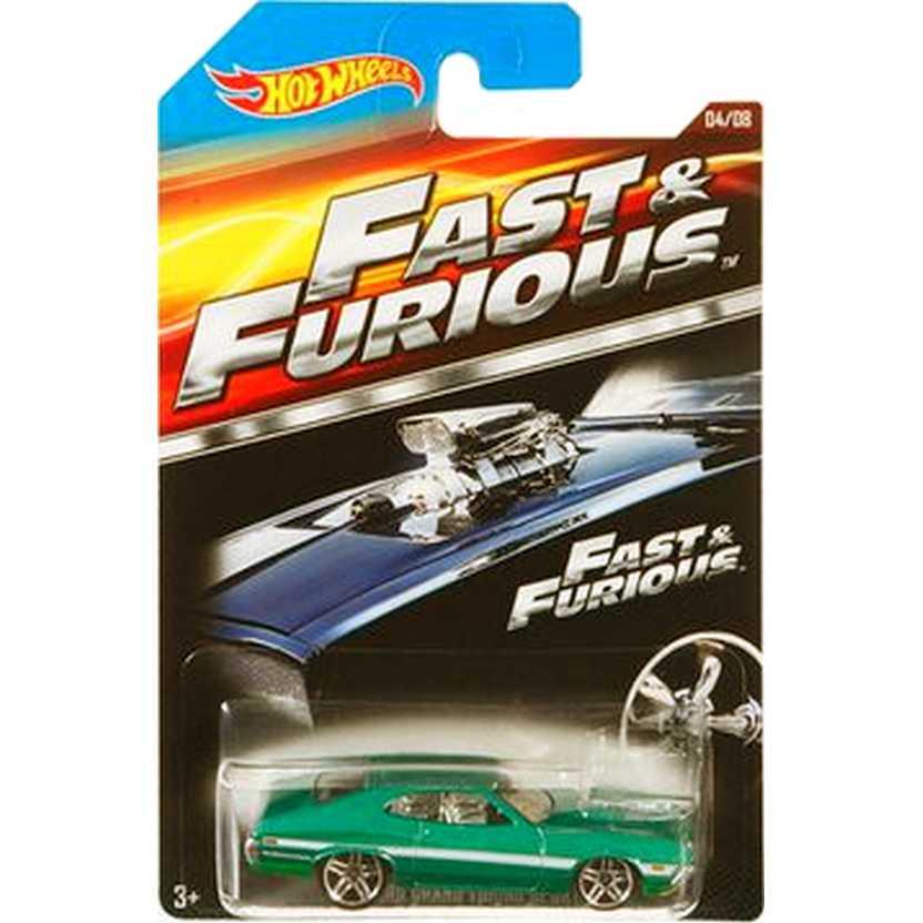 Hot Wheels 72 Ford Gran Torino Sport series 04/08 CJL33 Fast & Furious 4 escala 1/64