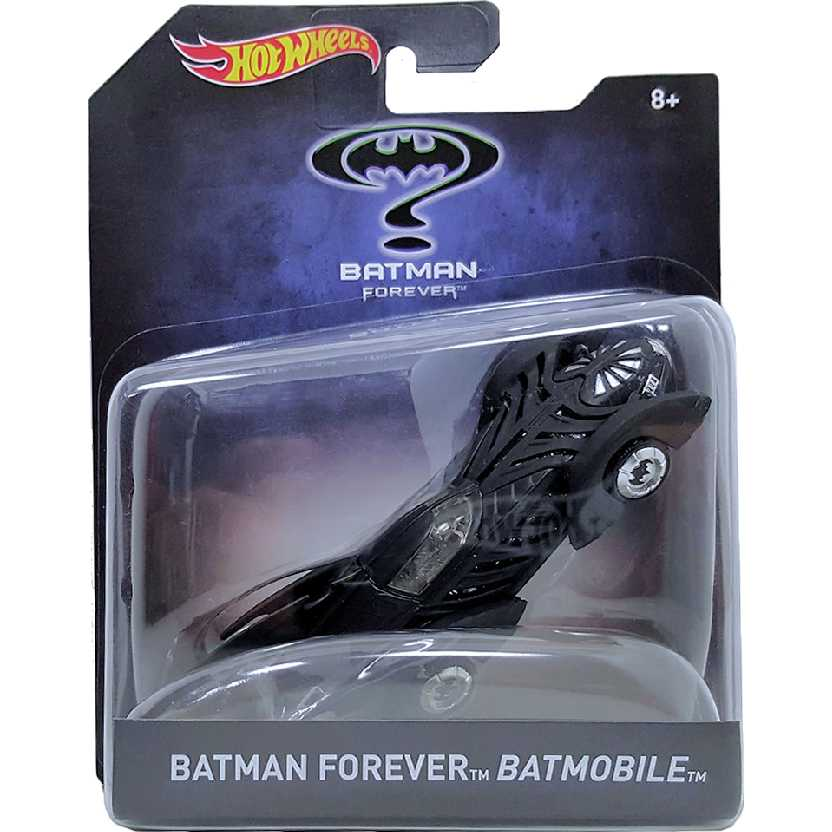 Hot Wheels Batman Forever Batmobile (Val Kilmer) Batmóvel escala 1/50 DKL29-0910