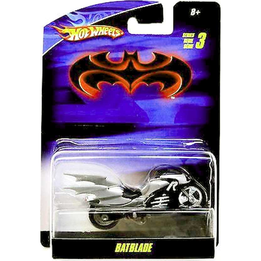 Hot Wheels Batman series 3 Batblade (moto do Robin) R5387 escala 1/50 RARIDADE