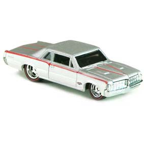 Hot Wheels Boulevard 2012 64 Pontiac GTO W4649 pneus de borracha