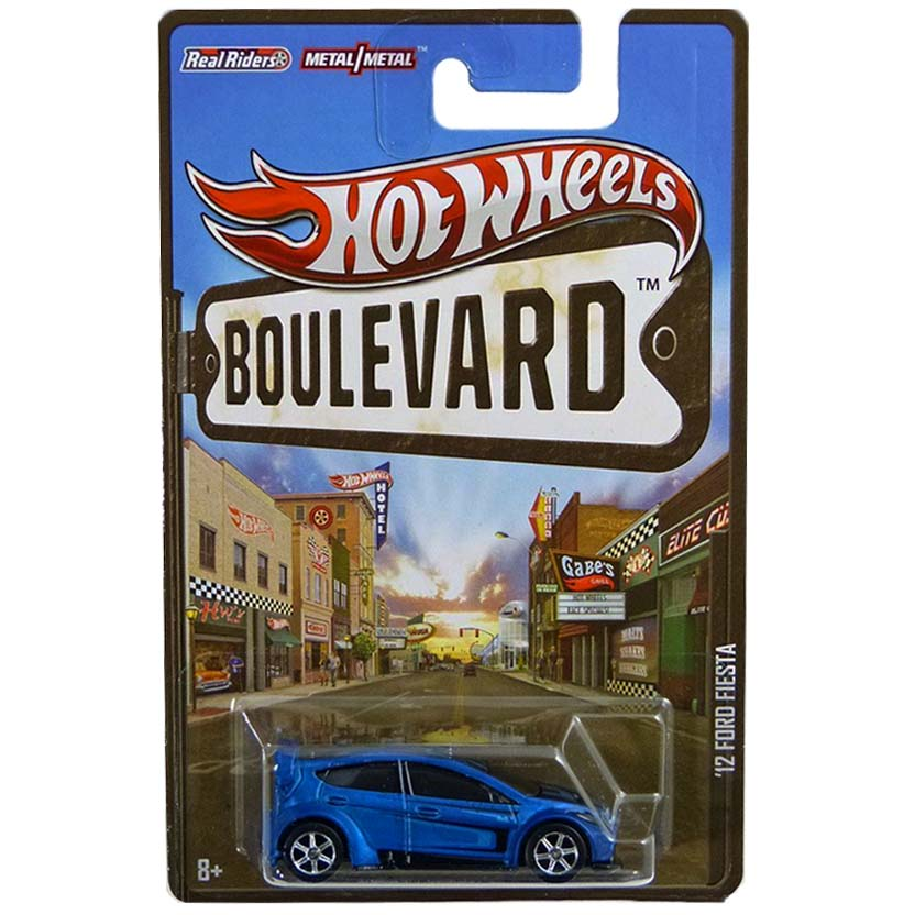 Hot Wheels Boulevard 2012 Ford Fiesta X8294