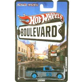 Hot Wheels Boulevard 2012 Pickup Studebaker (1963) W4646 escala 1/64