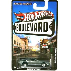 Hot Wheels Boulevard Delorean DMC-12 (2012) W4600 AHEAD OF ITS TIME RARO
