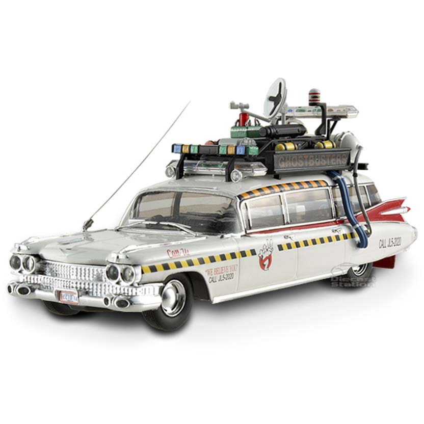Hot Wheels Caça Fantasma Ecto 1 Elite escala 1/43 :: Hot-Wheels Ghostbuster Ecto-1