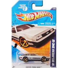 Hot Wheels Carros 2011 81 Delorean DMC-12 (1981) T9848 series 01/10 141/244