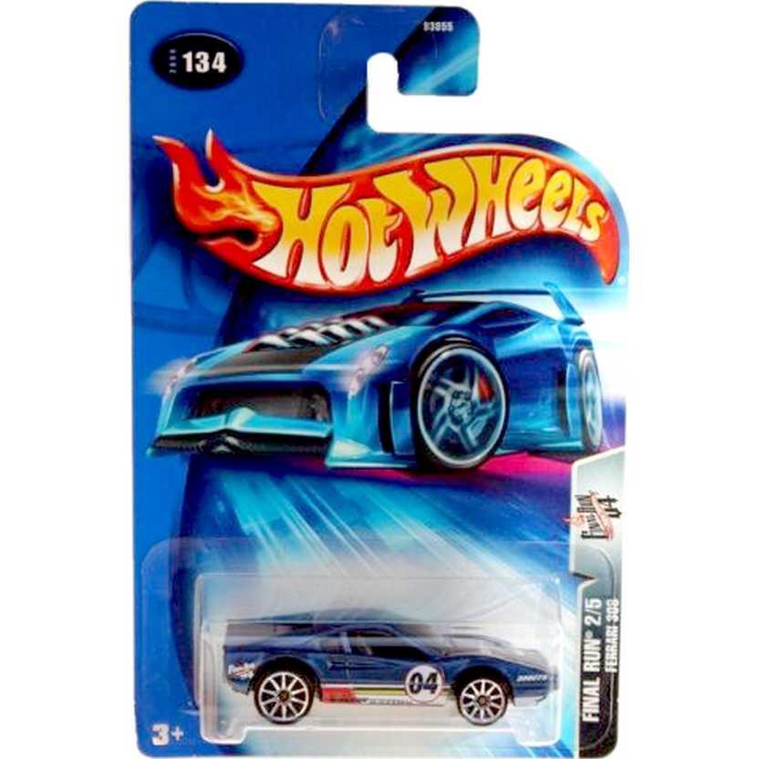 Hot Wheels catálogo 2004 Ferrari 308 B3855 #134 Final Run series 2/5 escala 1/64