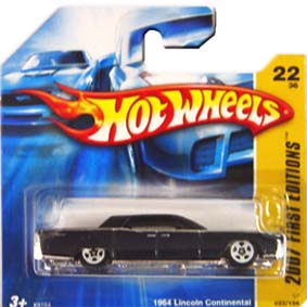 Hot Wheels Catálogo 2007 1964 Lincoln Continental K6154 series 22/36 022/156
