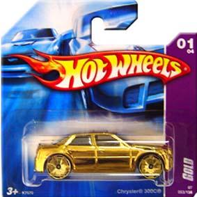 Hot Wheels Catálogo 2007 Chrysler 300C GOLD K7570 series 01/04 053/156