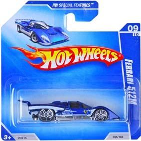 Hot Wheels Catálogo 2009 Ferrari 521M P2415 series 09/10 095/166