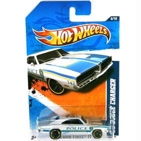Hot Wheels Catálogo 2011 :: 69 Dodge Charger Police Florida T9873 6/10 166/244