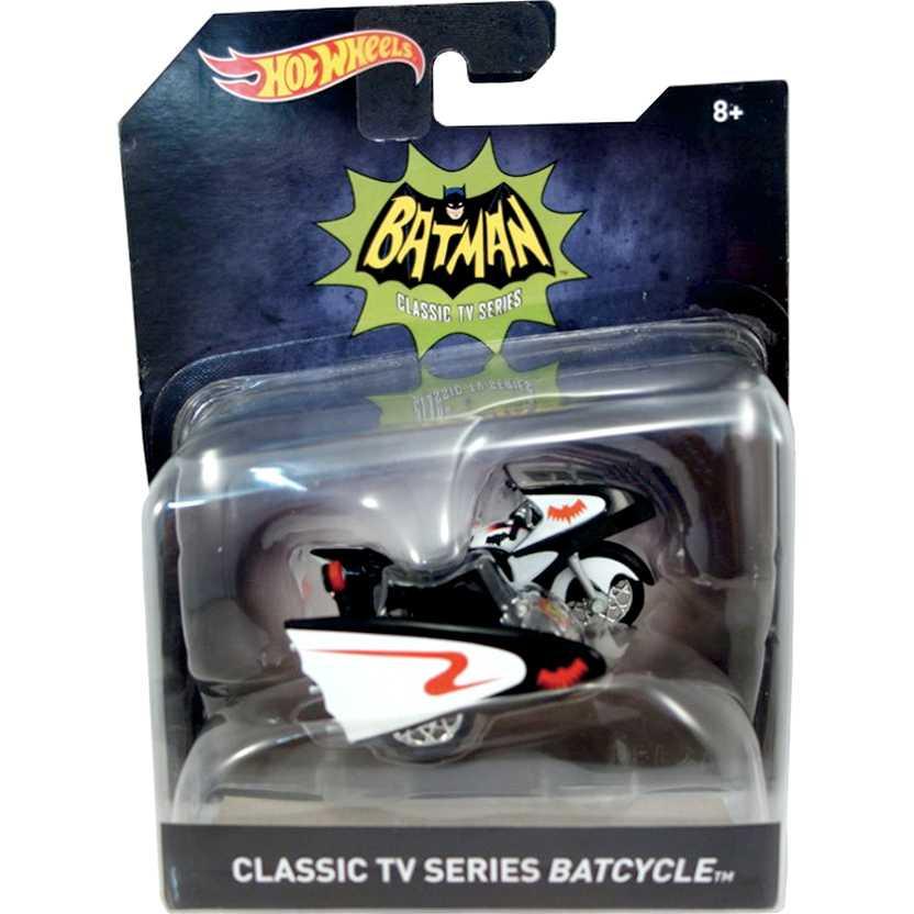 Hot Wheels Classic TV series - 1966 Batcycle escala 1/50 DKL26-0910