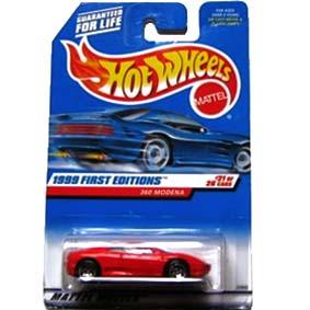 Hot Wheels Coleção 1999 Ferrari 360 Modena 23902 series 21/26
