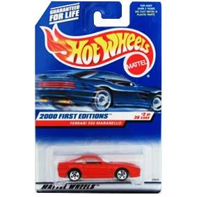 Hot Wheels Coleção 2000 Miniatura da Ferrari 550 Maranello 23929 series 2/36