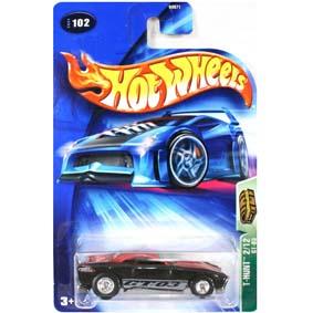 Hot Wheels Coleção 2004 T-Hunt Treasure Hunt GT-03 B3571 series 102 2/12