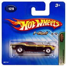 Hot Wheels Coleção 2005 Rodger Dodgers T-Hunt Raridade Series 129 G6744