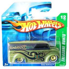 Hot Wheels Coleção 2006 Dairy Delivery T Hunt (Treasure Hunts) series 050 J3292