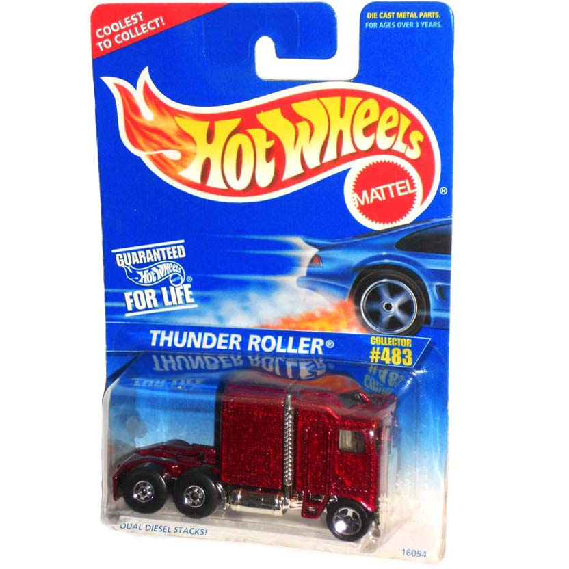 Hot Wheels Collector 1995 Thunder Roller #483