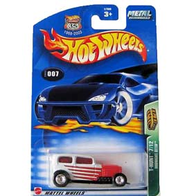 Hot Wheels Comprar Brasil Raridade 2003 T-Hunt Midnight Otto series 7/12 57006