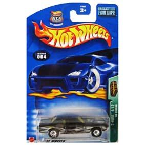 Hot Wheels Comprar no Brasil Raridade 2003 T-Hunt Cougar (1968) series 4/12 57003
