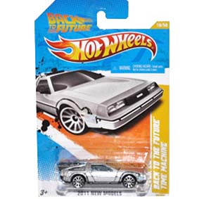 Hot Wheels De Volta Para o Futuro Delorean Back To The Future Time Machine T9688