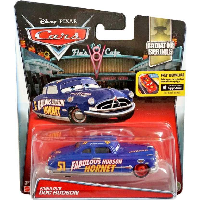 Hot Wheels Disney Pixar Cars Fabulous Hudson Hornet Radiator Springs 3/14 escala 1/55