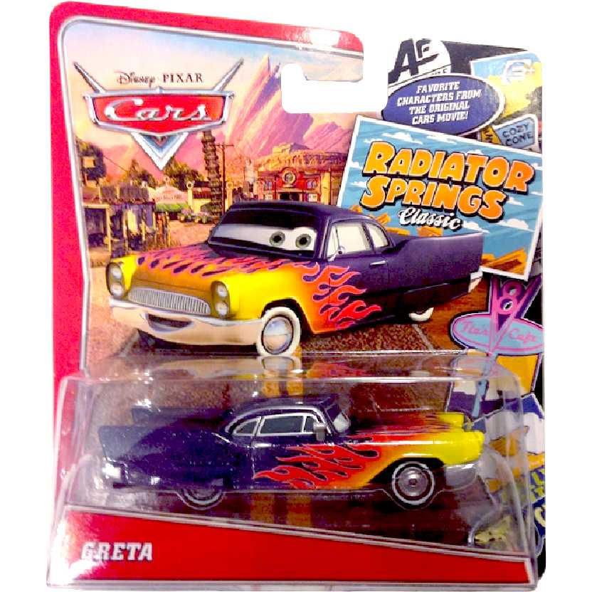 Hot Wheels Disney Pixar Cars Greta Radiator Springs Mattel escala 1/55