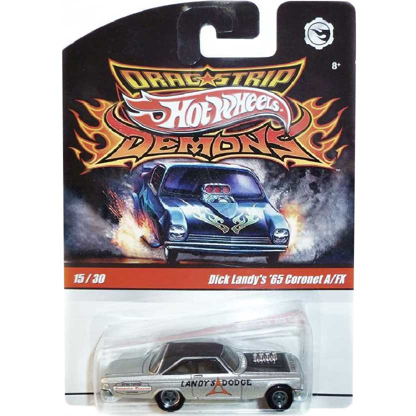 Hot Wheels Dragstrip Demons Dick Landys 65 Coronet 15/30 N8992 escala 1/64