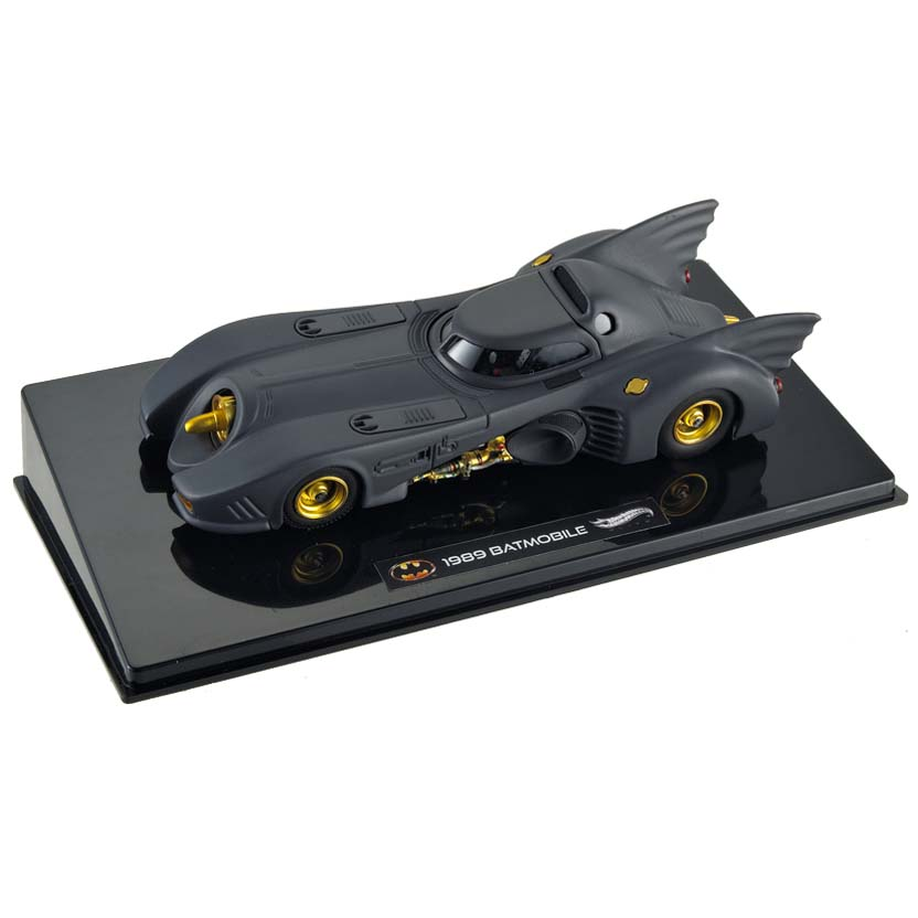 Hot Wheels Elite 1989 Batmobile (Michael Keaton) X5494 escala 1/43
