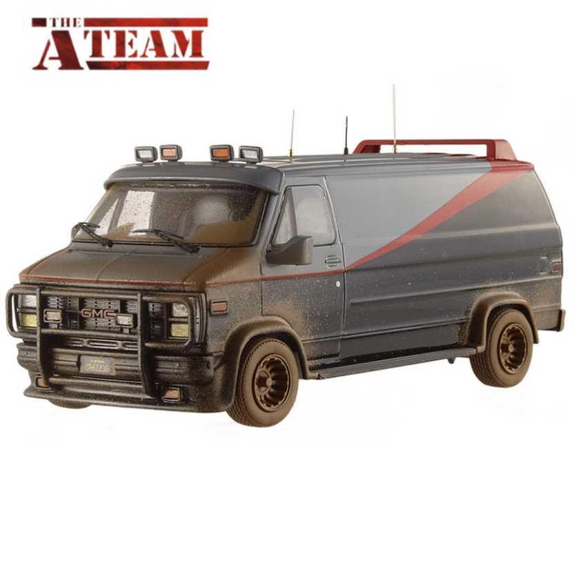 Hot Wheels Elite A-Team Van - Furgão Esquadrão Classe A escala 1/43 BCT88