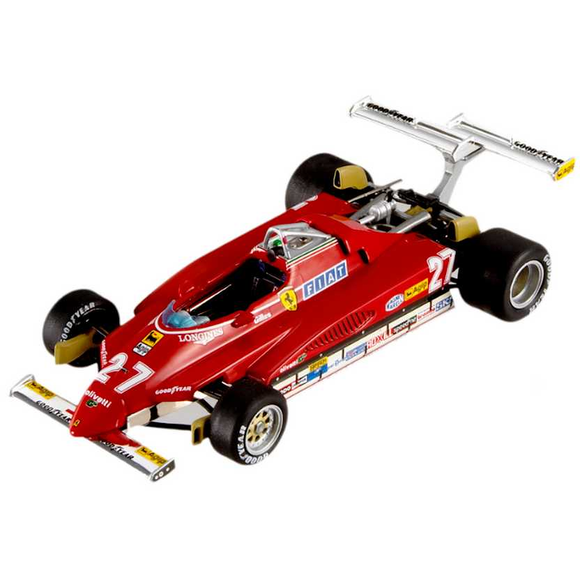 Hot Wheels ELITE Ferrari 126 C2 Gilles Villeneuve (1982) T6268 USA GP escala 1/43