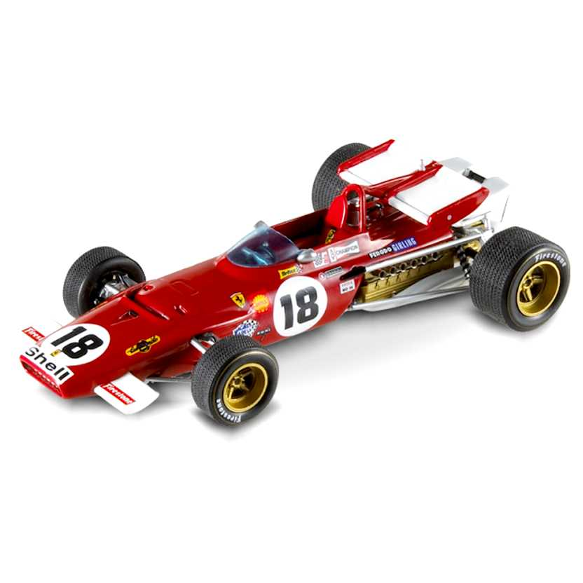Hot Wheels Elite Ferrari 312B (1970) Jack Ickx escala 1/43 N5588