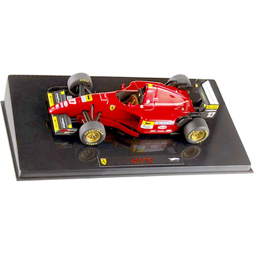 Hot Wheels Elite Ferrari 412 T2 (1995) Jean Alesi marca Hot-Wheels escala 1/43 P9946