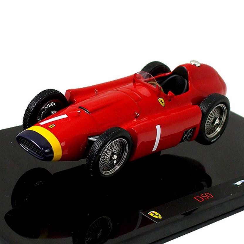 Hot Wheels ELITE Ferrari F1 D50 Juan Manuel Fangio (1956) P9947 World Champion