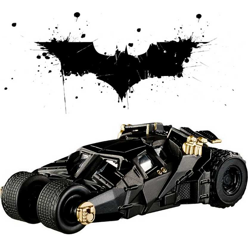 Hot Wheels Elite One Batmóvel The Dark Knight Trilogy Tumbler Batmobile  BLY18 escala 1/50