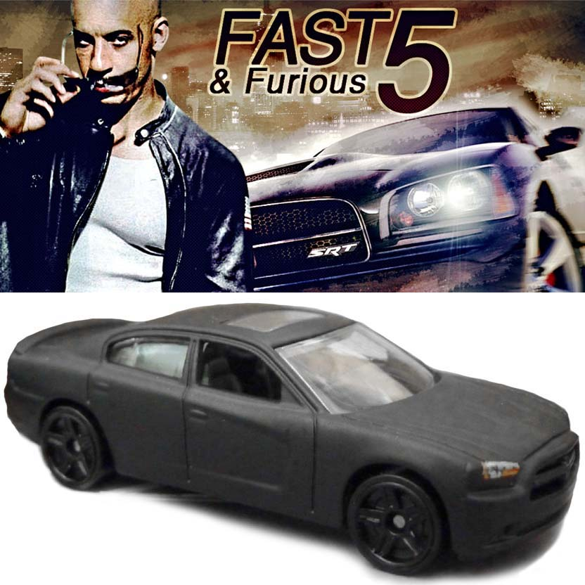 Hot Wheels Fast & Furious 11 Dodge Charger R/T ( Fast Five ) Velozes e Furiosos 5 Y2132