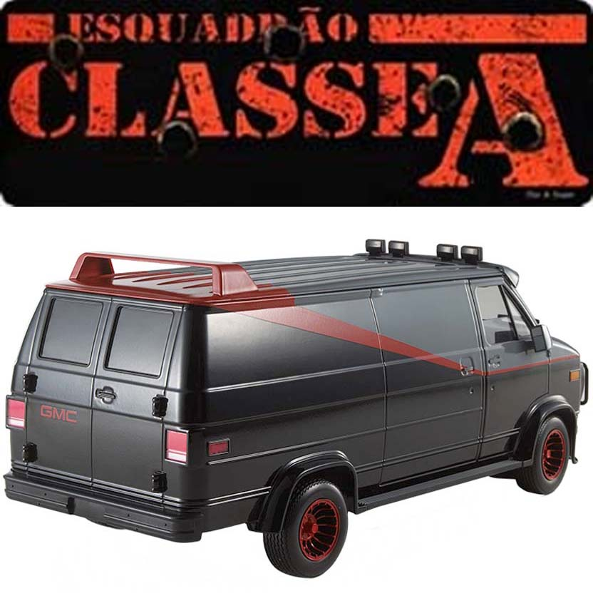 hot wheels furg o do esquadr o classe a the a team van. Black Bedroom Furniture Sets. Home Design Ideas