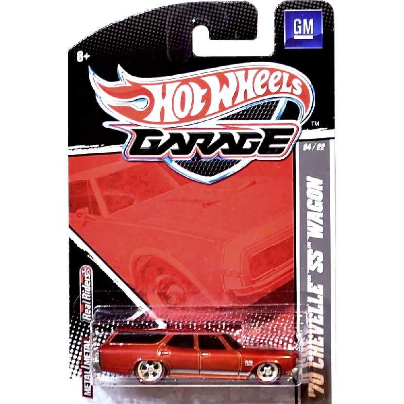 Hot Wheels Garage 70 Chevelle SS Wagon 04/22 T8262 escala 1/64