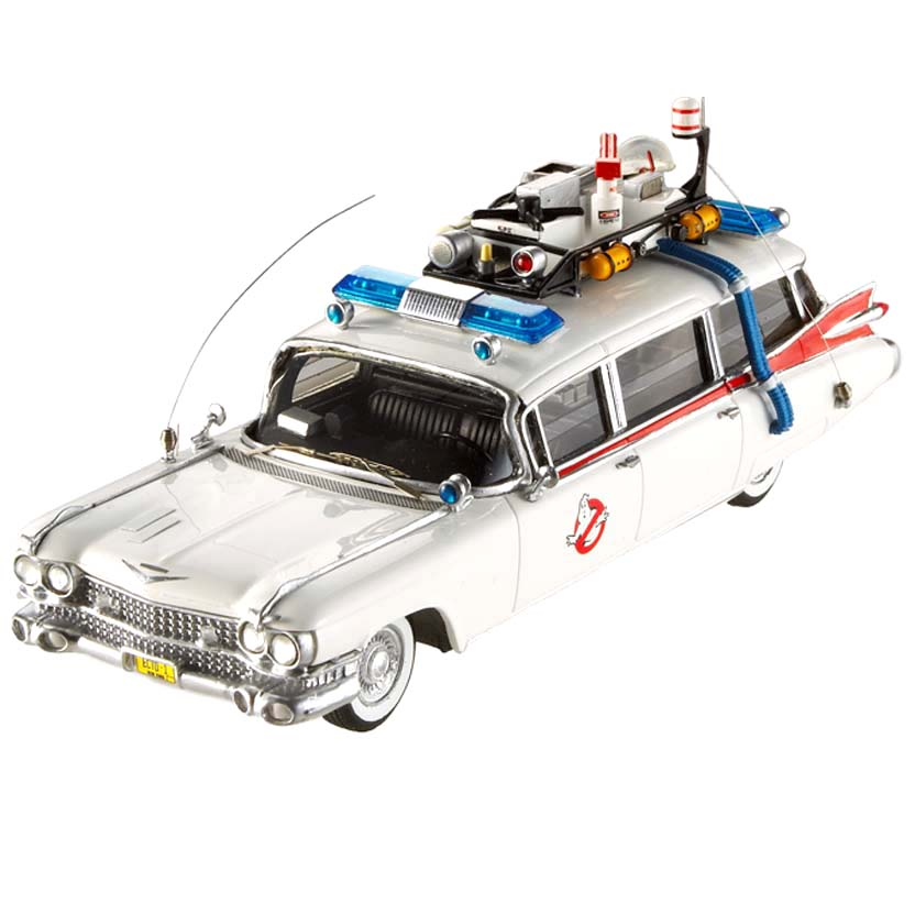 Hot Wheels Ghostbuster Ecto-1 Elite escala 1/43 W1194 : Hot-Wheels Caça Fantasma Ecto 1