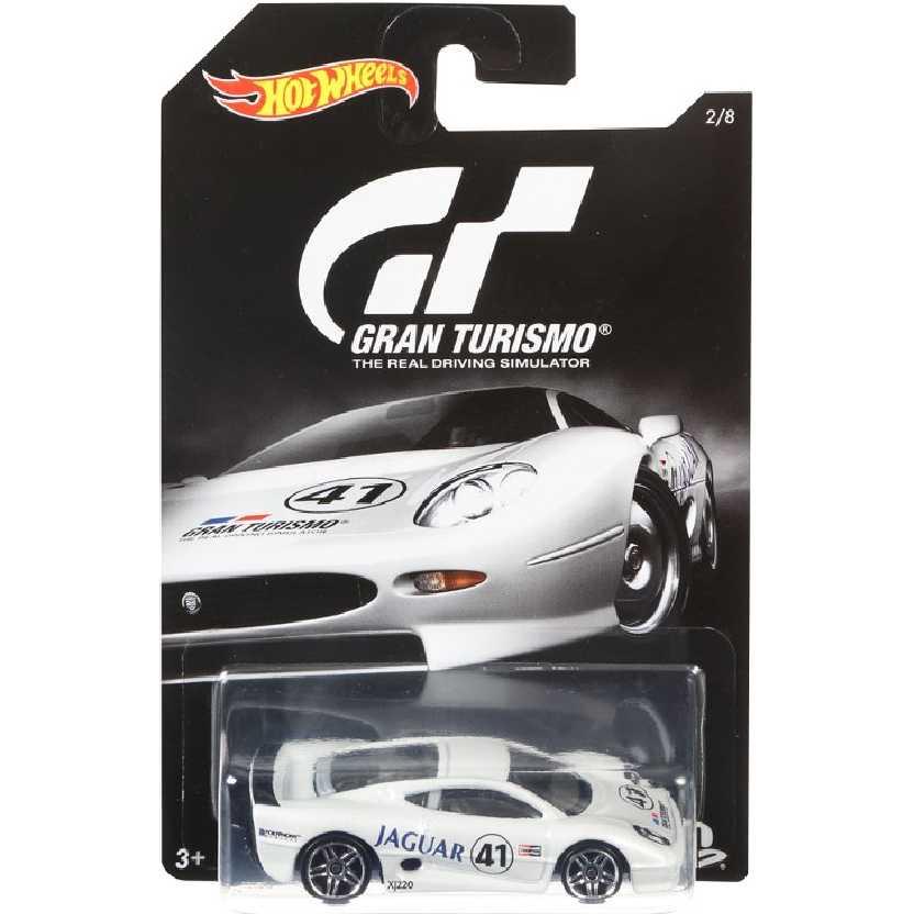Hot Wheels Gran Turismo Jaguar XJ220 escala 1/64 DJL14 series 2/8