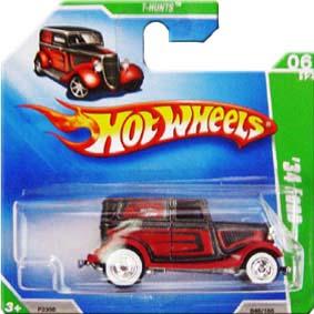 Hot Wheels Guia 2009 34 Ford Super T-Hunt$ P2368 series 06/12 048/166
