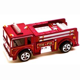 Hot Wheels Guia 2009 Treasure Hunts Fire-Eater P2354 series 04/12 046/190